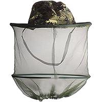 Andux Cappello da pescatore Mesh Apicoltura cappello della visiera Cap  antivento Anti-zanzara cappello pescatore 43c19c67d31c