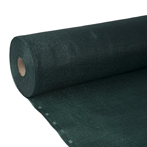Filet de protection brise-vue et coupe-vent Largeur 2 m x 25 m Filet brise-vue