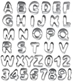 Wilton - Moldes para galletas, diseño de letras y números