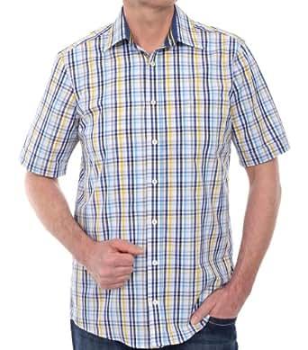 CASAMODA Herren Regular Fit Freizeithemd 941909400-500, Gr. XXXXXX-Large (Herstellergröße: 6XL), Gelb