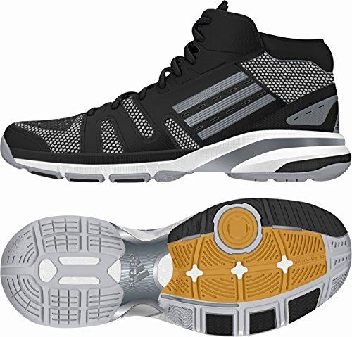 adidas Volley Light High Schuhe Sportschuhe Volleyballschuhe Schwarz M17497 Schwarz