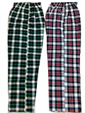 #6: Handloom Cotton Night Pant, Track Pant Comfort at Night and Day Like Pyjama for Men, Women, Cotton Check Design 2 (Two) Pecs Combo Pack.