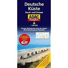 ADAC Camping Karte Deutsche Küste (Camping und Caravaning)