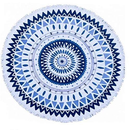 Indisch Wandteppich Mandala Wandtuch Hippie, Mehrfarbige Runde Stranddecke / Strandhandtuch für Schwimmbad Yoga Reisen Surfen Wall Decor Home Decor