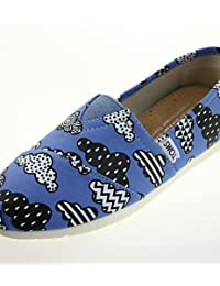 ZQ YYZ Zapatos de mujer - Tac¨®n Plano - Punta Redonda - Planos - Casual - Seda - Negro / Azul / Rojo / Gris , black-us5.5 / eu36 / uk3.5 / cn35 , black-us5.5 / eu36 / uk3.5 / cn35