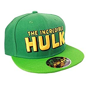 Casquette marvel hulk