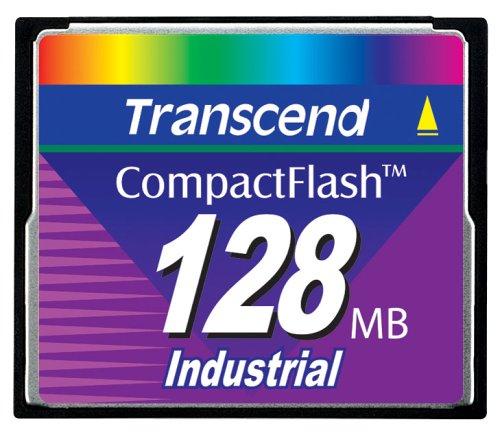 45 X Compactflash-karte (Transcend 128MB Industrial CF Card (45X) - Transcend Flashspeicher Compact Flash Card (CF) - 45X Arbeitsspeicher)