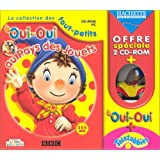 Coffre Oui-Oui 1 et Télétubbies 1 + Figurine