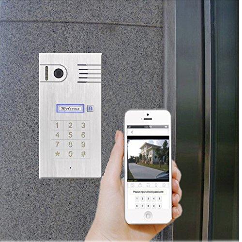 Preisvergleich Produktbild Tür Sprechanlage wifi IP Video HD - Türzugang von Ihnen iphone, ipad, Andriod Smartphone, PC