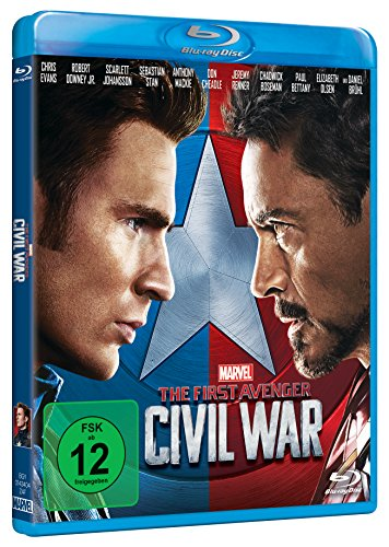 The First Avenger: Civil War [Blu-ray] - 2