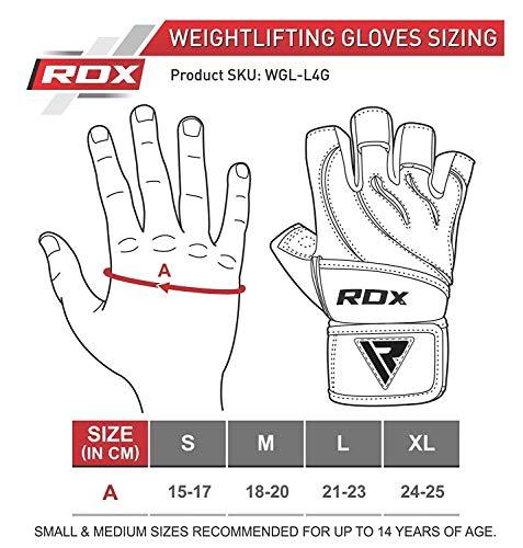 Zoom IMG-1 rdx guanti palestra pelle fitness