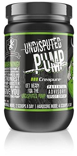 Undisputed Pump Booster 1100 g I Pre-Workout I Booster I Fitness I Pump I Trainingsbooster I Bodybuilding I CREAPURE I Creatin I R-ALA I AAKG I Maisstärke I Dextrose (Cherry) - Pump Pre-workout Creatin