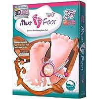 Milky Foot - Exfoliating Foot Pad Super 4 - Almohadilla exfoliante para pies, Pack de 1 (1 x 1 unidad)