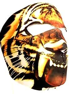 MASQUE DE PROTECTION INTEGRAL NEOPRENE TETE DE TIGRE CAMO TIGER DMONIAC 67142 AIRSOFT PAINTBALL