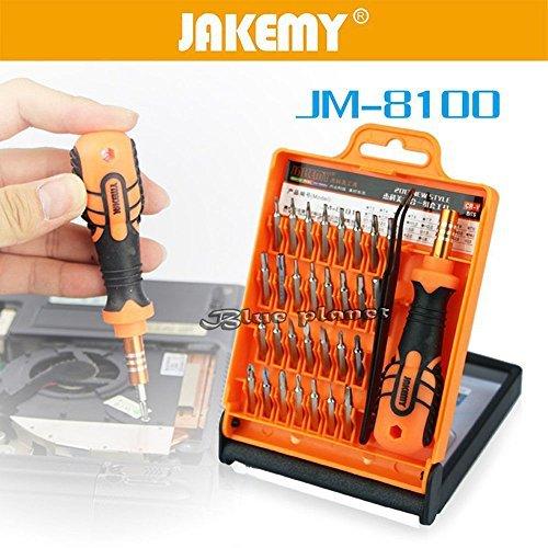 32in 1Handy MP3PDA PSP Mini Reparatur Präzisions-Schraubendreher-Torx-Werkzeug Set Blue Handy Pda