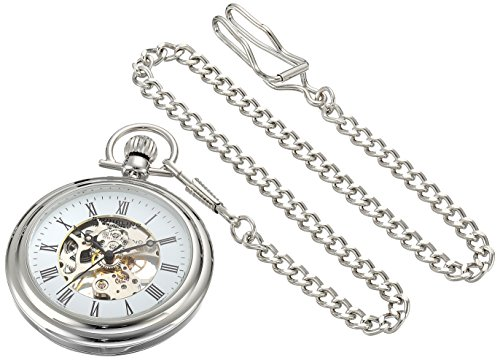 stuhrling-original-unisex-mechanical-watch-with-white-dial-analogue-display-and-silver-stainless-ste