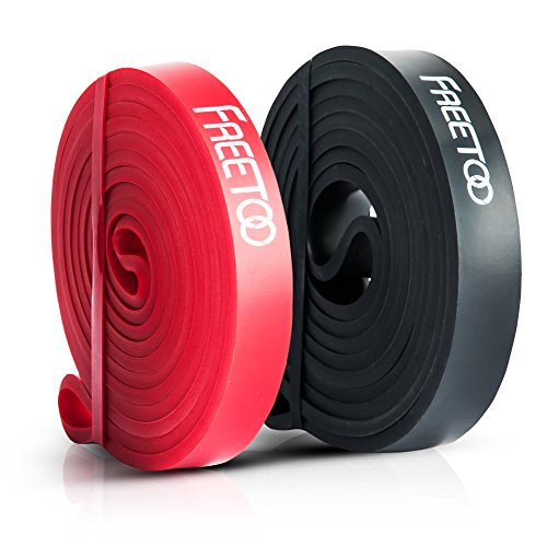 FREETOO Resistance Training Bands Workout Exercise Pull up Rubber Bands for Men Women