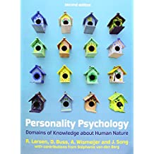 Personality Psychology: Domains Of Knowledge About Human Nature (UK Higher Education Psychology)