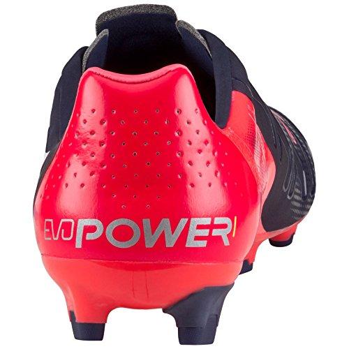 Puma Evopower 1 H2H FG 'Head To Head' Fussballschuhe Tricks Graphic Kollektion schwarz/pink
