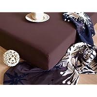 JERSEY drap-housse 180x200 chocolat marron! 1A qualité - 135g/m² grammage!