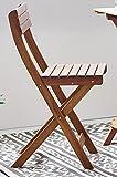 SAM Garten-Sitzgruppe 3tlg. Akazienholz geölt, FSC® 100% zertifiziert, 1x Tisch + 2x Stuhl, klappbar Test