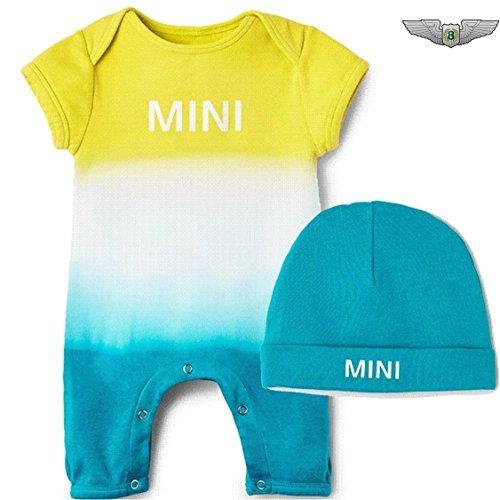 Mini Lifestyle Kollektion NEU Original MINI Wordmark Dip Dye Baby Geschenk Set 6-9mth 80142445650 (Mth Kleidung)