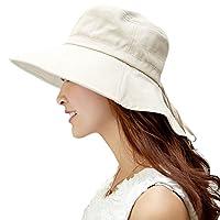 Siggi Summer Ladies UPF 50 Sun Hats Women Wide Brim Packable Neck Protection Chin Strap 11