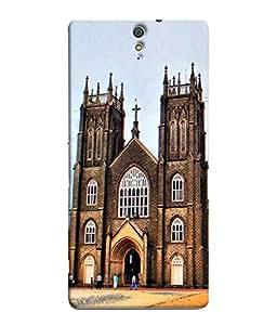 PrintVisa Holy Place Christians 3D Hard Polycarbonate Designer Back Case Cover for Sony Xperia C5 Ultra Dual :: Sony Xperia C5 E5533 E5563