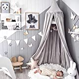 Dix-Rainbow Princess Girls Bed Canopies Net Queen