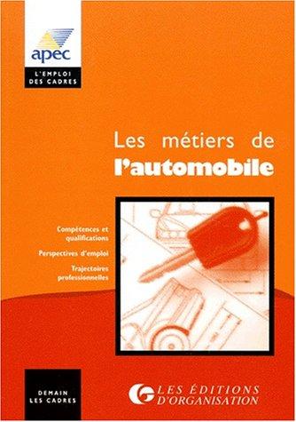 Les métiers de l'automobile : Constructeurs, équipementiers