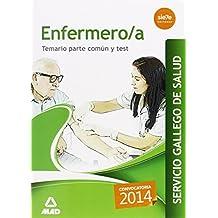 Enfermero/a del Servicio Gallego de Salud. Temario parte común y test (Galicia)
