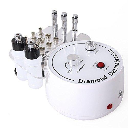 TopDirect 3 in 1 Diamant Mikrodermabrasion Dermabrasion Maschine Vakuum und Spray Maschine für Salon und Hauspflege verwenden (Saugleistung: 0-55 cmHg)