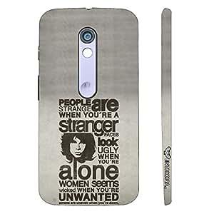 Motorola Moto X Play Jim's Mantra designer mobile hard shell case by Enthopia