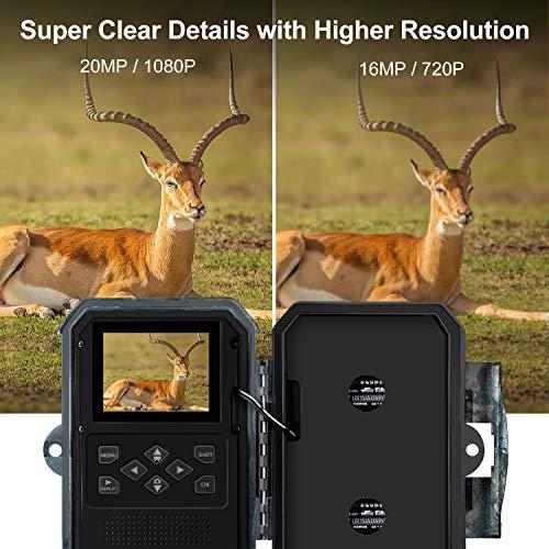 Zoom IMG-3 enkeeo 20mp 1080p hd fotocamera