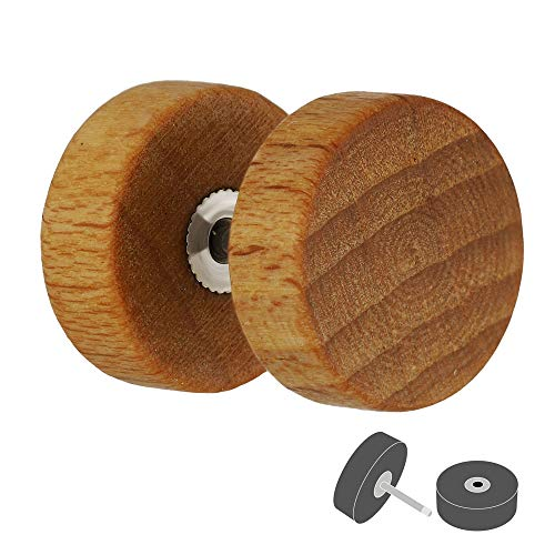 Treuheld Piercing Fake Plug - Holz - Hellbraun [01.] - 1.0 x 6 mm