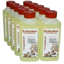 Espressovision - Líquido antical para cafeteras automáticas (10 botellas de 250 ml)