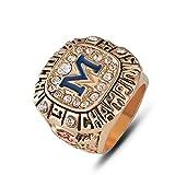 G-J Champion Ring Fan High-End Collection Ring Fans Anillo de Decoración de Regalo, Imagen, Número 10, Imagen, Número 9