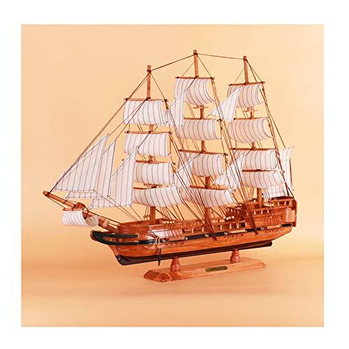 Guvd Decorazione del Modello di Barca a Vela, utilizzata per Ornamento da Tavolo, Puntelli per Foto, Festa a Tema Beach Ocean e Decorazione della Stanza
