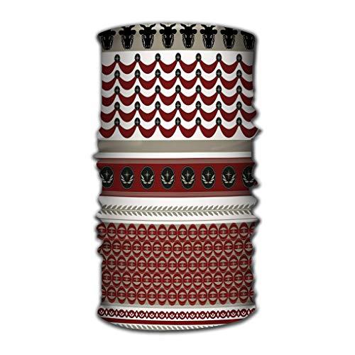 Xunulyn Stirnband Unisex Variety Scarf Wrap Bandanna Headwear Neck Gaiters Head Scarf Face Masks Pattern Military Inspired Elements bull s i Used Hera - Bulls Magic Pack