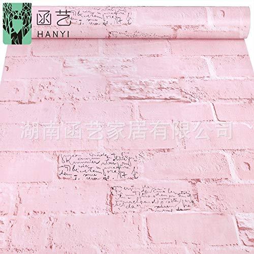 Kostüm Buddha Dog - Tapete Tapete Retro Backsteinmauer Ziegelstein Ziegelsteintapete 10 m 0,45 * 10 m