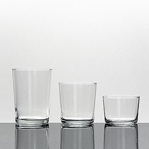 BORMIOLI ROCCO - Lot de 12 Verres « Bodega » - Moyen - 335 ML - sans Dosage