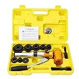 Yiyiby Punzonatrice idraulica per lamiera, in acciaio per utensili, 6 dimensioni: 22,5-60,8 mm