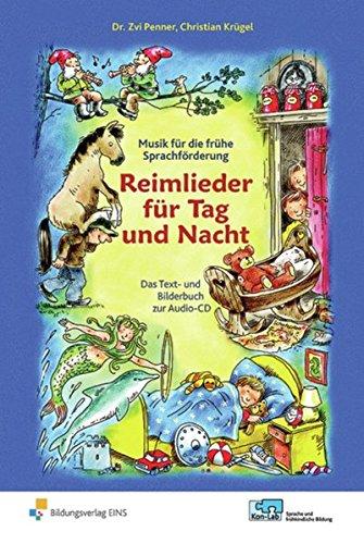 KonLab Reime, Rhythmus, Kinderlieder / Musik für die frühe Sprachförderung: KonLab - Reime, Rhythmus, Kinderlieder: Reimlieder für Tag und Nacht: Das Liederbuch
