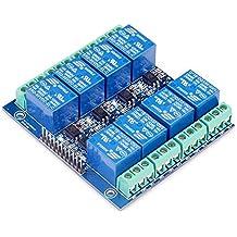 daorier 8canal DC 5V módulo de relé con Optocoupler para Arduino Raspberry Pi