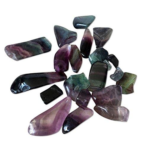 100g naturale fluorite cristalli di quarzo lucido colorato rubble agata pietra di energia reiki crystal healing rock fossili minerali per decorazione domestica