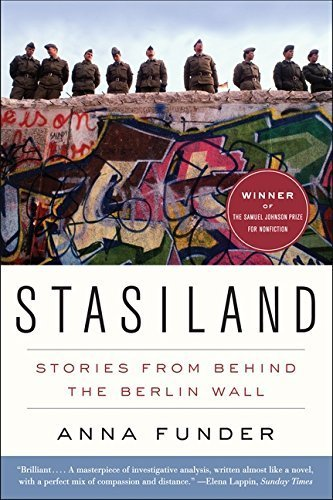 Portada del libro Stasiland: Stories from Behind the Berlin Wall by Anna Funder (2011-09-20)