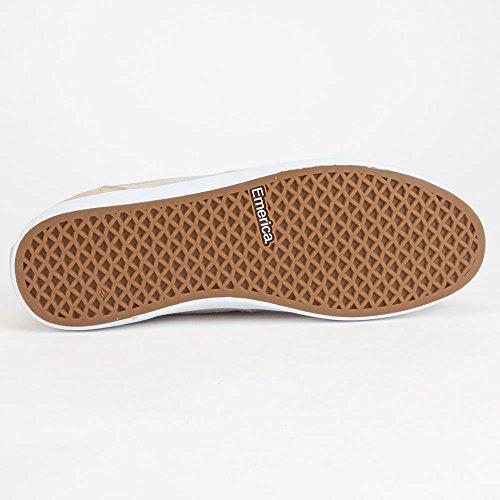 Emerica, Scarpe da Skateboard uomo Brown White Brown White