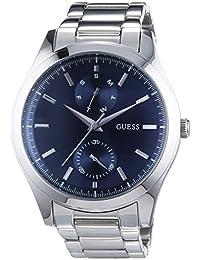 Guess Herren-Armbanduhr Analog Quarz Edelstahl W0373G3