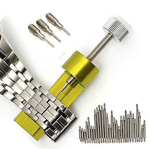 FomCcu Watch Band Link Pin Remover Tool Spring Bars Pins Watch Repair Tool Kit