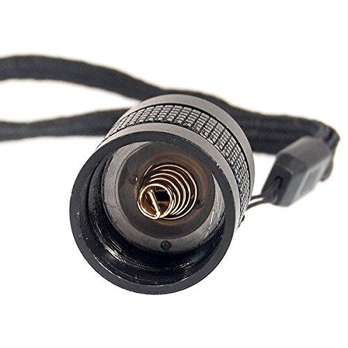 Remplacement de capuchon arrière commutateur Clicky Interrupteur pour Surefire 6P/C1 + Plus de fils (25.5 mm)